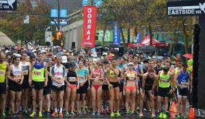 Eastside 10K startline